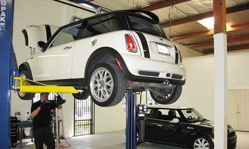 MINI Cooper Scheduled Service